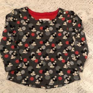 Baby Gap 2t NWOT Disney Minnie and Mickey shirt